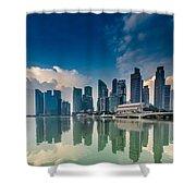 Singapore Shower Curtain