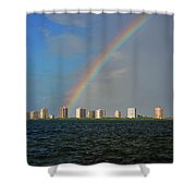 1- Singer Island Shower Curtain