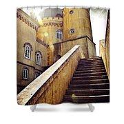 Sintra Palace Shower Curtain