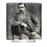 Sir Arthur Conan Doyle, 1859   1930 Shower Curtain