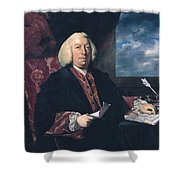 Sir James Hodges Shower Curtain