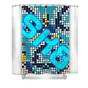 Skateboard Design Shower Curtain