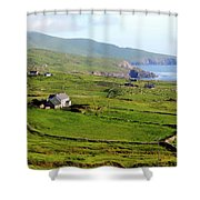 Skellig Ring - Ireland Shower Curtain