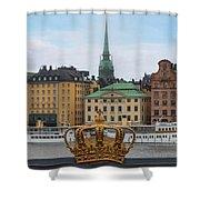 Skeppsholmsbron - Stockholm Shower Curtain