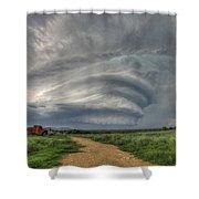 Sky Monster Shower Curtain