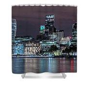 Skyline Of London Shower Curtain