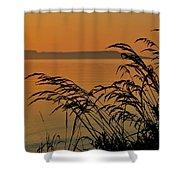 Sleeping Giant Sunrise Shower Curtain