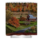 Sleepy Hollow Farm Shower Curtain