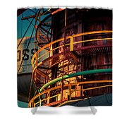 Sloss Furnaces Shower Curtain