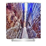 Slot Canyon Of Canyon De Chelly, Shower Curtain
