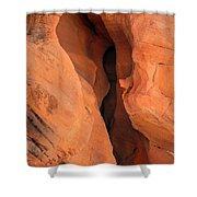 Slot Cave Valley Of Fire Shower Curtain