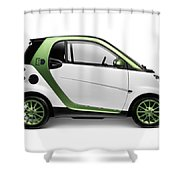 Smart Fortwo Electric Drive Shower Curtain