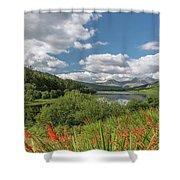 Snowdonia Lake Shower Curtain