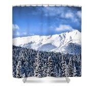 Snowmass Shower Curtain