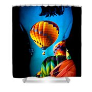 Soarin Beauty Shower Curtain