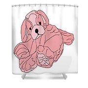 Soft Puppy Pink Shower Curtain
