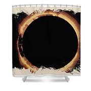 Solar Eclipse 2017 3 Shower Curtain