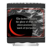 Solar Eclipse Reflections 3 Shower Curtain
