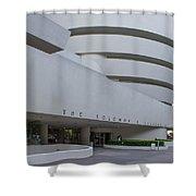 Solomon S Guggenheim Museum Shower Curtain