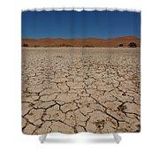 Sossuvlei  Shower Curtain
