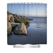 South County Sunset  Shower Curtain