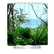 South Shore Bermuda Shower Curtain