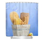 Spa Items Shower Curtain