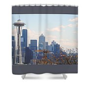 Space Needle 6 Shower Curtain