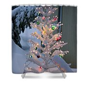 Sparkly Tree Shower Curtain