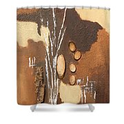 Spaziergang Shower Curtain