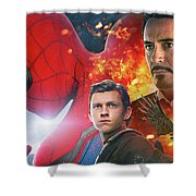 Spider-man Homecoming Shower Curtain