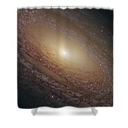 Spiral Galaxy Ngc 2841 Shower Curtain