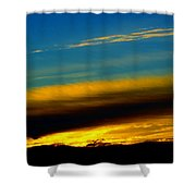 Spokane Sunrise Shower Curtain