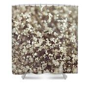 Spore Field Shower Curtain
