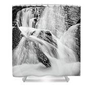 Spring Cascades #7 Shower Curtain