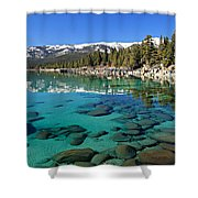 Spring Clarity Shower Curtain