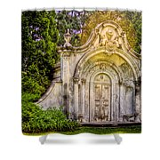 Spring Grove Mausoleum Shower Curtain