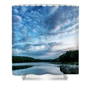 Spring Morning On The Lake Shower Curtain