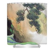 Spring Of Mountain Shower Curtain