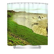 Spring Run Off Shower Curtain