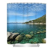 Spring Waters Shower Curtain