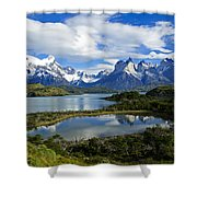 Springtime In Patagonia Shower Curtain