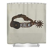 Spur Shower Curtain
