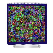 Squareousel Shower Curtain
