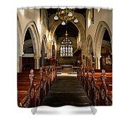 St Andrews Church, Aysgarth Shower Curtain