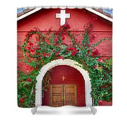 St. Anthony's Church Shower Curtain