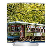 St. Charles Ave. Streetcar 2 Shower Curtain