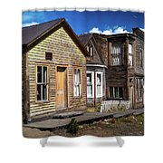 St. Elmo Ghost Town Shower Curtain