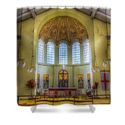 St George In The East Church London Shower Curtain