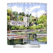 St Just In Roseland Church Shower Curtain